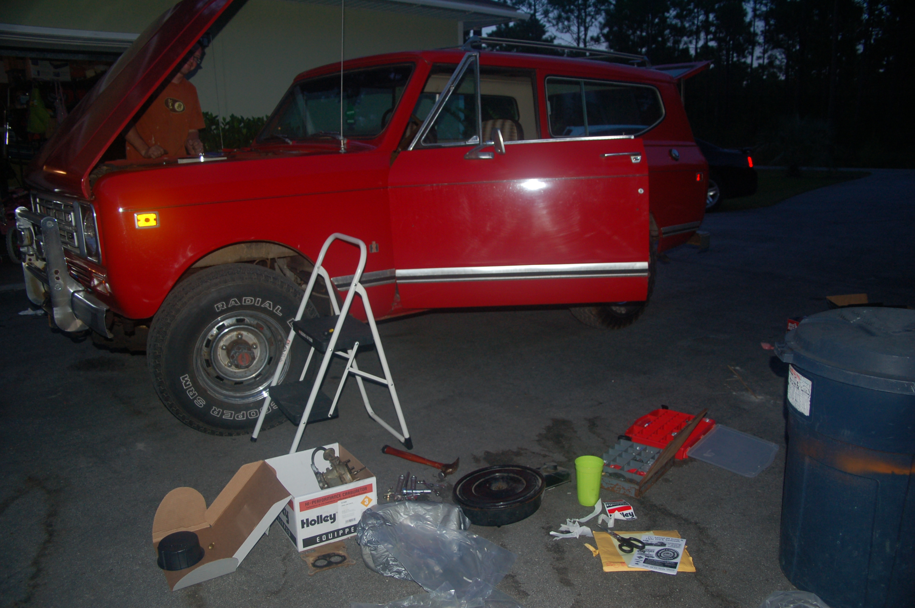 Nc 1977 Scout Ii Binderplanet Holley 4150 Exploded Diagrams The Old Car Manual Project